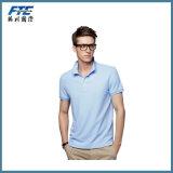 Heiße Verkaufs-Polo-Hemd-kundenspezifische Baumwolle/Polyester Polo-Hemd