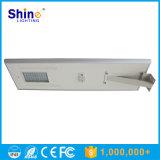 Luz de calle solar integrada 80W con la función del sensor de movimiento de PIR