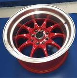 中国の工場はアルミニウム車輪を造った