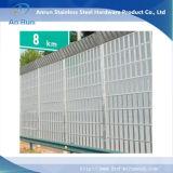 Barriera acustica prova sana ferroviaria/della strada principale di alluminio fatta in fabbrica