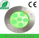éclairage LED en aluminium tricolore de 18W Inground (JP82666)