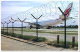 Cerca do aeroporto da alta qualidade, cerca da prisão, cerca de segurança