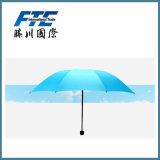 Hotest 열려있는 선전용 폴리에스테 일요일 우산