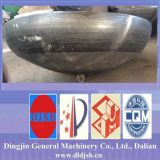 蒸気ボイラの部品の皿ヘッド