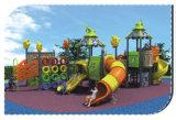 Equipamento ao ar livre HD-063A da corrediça dos campo de jogos do teatro das crianças