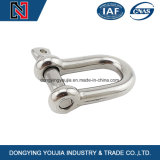 Aço inoxidável Drop Forged Screw Pin Anchor Shackle for Rigging