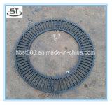 Дуктильная решетка вала утюга En124 B125 круглая для напольного тротуара