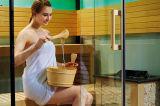 Pièce d'intérieur de sauna de famille de sauna portatif de luxe de vapeur (M-6053)