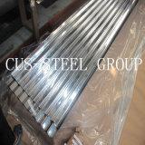 Le zinc plongé chaud a enduit la plaque d'appui en acier/feuilles ondulées en acier galvanisées
