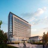 Внешнее перевод взгляда перспективы для офисного здания