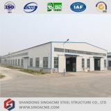 Estrutura de edifício de aço pré-fabricada para o armazém