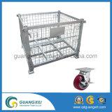 Recipiente de rolo de armazenamento de quatro andaimes de aço