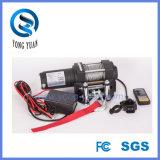 Tornos eléctricos de dc 12 V, 4000lbs fabricante eléctrico sin hilos del torno del telecontrol ATV (DH4000D-1)