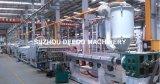 Blocco per grafici di portello del PVC Trunking/PVC di profilo della finestra del PVC che fa macchina