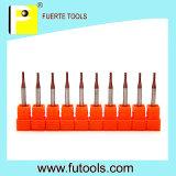 Coupeur solide de fraise en bout de carbure pour le traitement d'Acrylic/MDF/Rubber