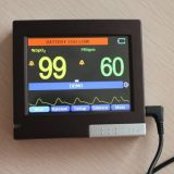 Rechargeable Battery Pulse Oximeter를 가진 3.5 인치 TFT Color Display Porttable SpO2 Pulse Oximeter