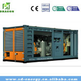 세륨 & ISO Standard Green Power Water Cooling 300kw Biogas Generator