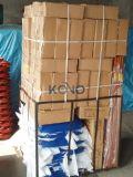 4 cylindres à pieds cubiques avec poignées en bois