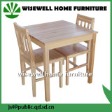 2脚の椅子(W-DF-0621)が付いている純木の食堂の家具