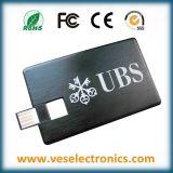 Mecanismo Impulsor de la Pluma del USB de la Tarjeta de la Tarjeta de Crédito/conocida