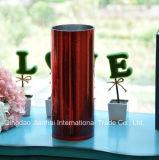 Цилиндрическая ваза с картиной воздушного пузыря для домашнего украшения