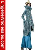 Cosplay der deluxen Halloween-Partei-mittelalterlichen Königin-Frauen fantastisches Kleid-Kostüm