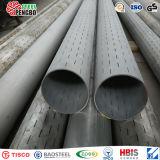 Tubo scanalato dell'acciaio inossidabile di ASTM A312 per il pozzo d'acqua