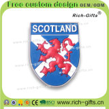 Подгонянные магниты холодильника с подарками Шотландией Британией PVC выдвиженческими (RC-UK)