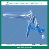 Espéculo vaginal desechable estéril con el lado del tornillo
