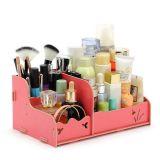 Jóias de madeira de alta qualidade e caixa de cosméticos, Fine DIY Cosmetic Box