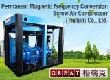 食糧産業アプリケーションの倍の圧延ねじ空気圧縮機