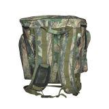 Grand sac à dos de champignon de couche de pêche avec le panier en osier