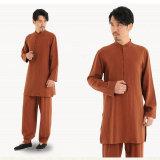 고품질 긴 소매 셔츠 플러스 차가운 대나무 섬유 셔츠