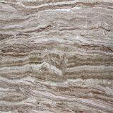 Lichtdurchlässige silberne Drache-Marmor-Polierplatte