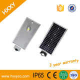 luz de calle solar integrada del sensor de movimiento 18W LED