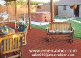 En1177の庭のためのカラー煉瓦表面のゴム製タイル