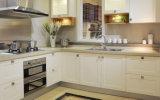 2016 ventas calientes de los nuevos del estilo de madera sólida muebles blancos de la cocina liberan el diseño (ZS-816)