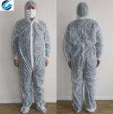 Spunbond nichtgewebter Coverall//Workwear/Overall Gebrauch für Farbanstrich-und Reinigungs-Schutz