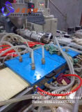 Chaîne de production en bois en plastique de panneau de mur de modèle d'épreuve de l'eau (300mm et 600mm)
