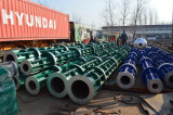 Bons moulages en acier électriques tournés par Pôle faits à l'usine de Pôle de pile concrète en Chine