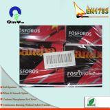 Cadre matériel d'allumettes de sûreté de carton chaud de vente