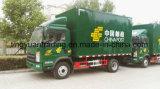 4*2 HOWOの軽トラック、交通機関のための中国の郵便トラック