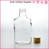 bouteille 200ml en verre pour la boisson alcoolisée de vin avec le chapeau en aluminium