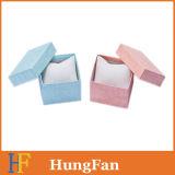 Rectángulo de regalo de papel de empaquetado de la cartulina cuadrada para el reloj