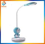 Lámpara de vector recargable portable de la historieta linda con el acceso del USB