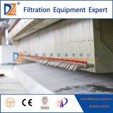 Prensa filtrante empotrable totalmente automática para aguas residuales