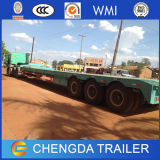 de 3axles Lowbed do Gooseneck reboque do caminhão Semi com Ce (capacidade 30-80ton)