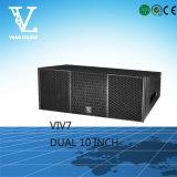 V1V7 Lautsprecher-Vollzeile Reihe des Spitzendoppelt-10 ''