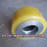 Porta e polias usadas janela das rodas do nylon (SWCPU-P-P089)