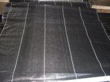 Ткань земной крышки с линией прокладки или линией квадрата